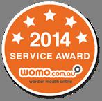 2014 service award Womo