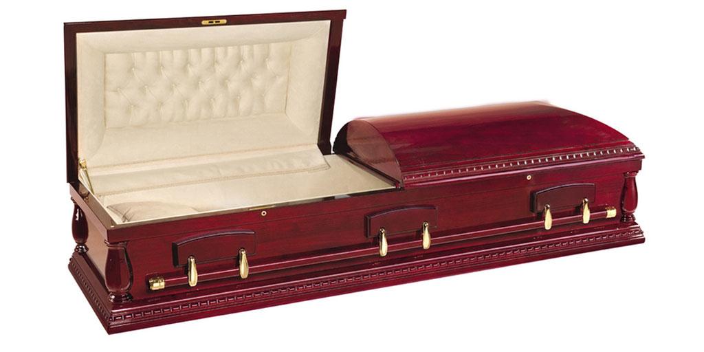 Armada casket---open