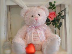 Pink teddy Bear $300