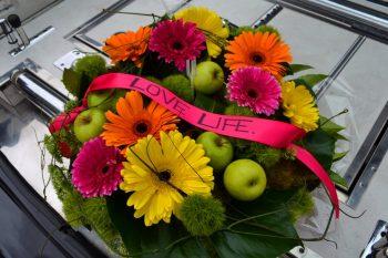 prepaid funeral flowers