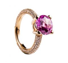 SKU003 - Ashes Sapphire Ring 18ct Gold - POA