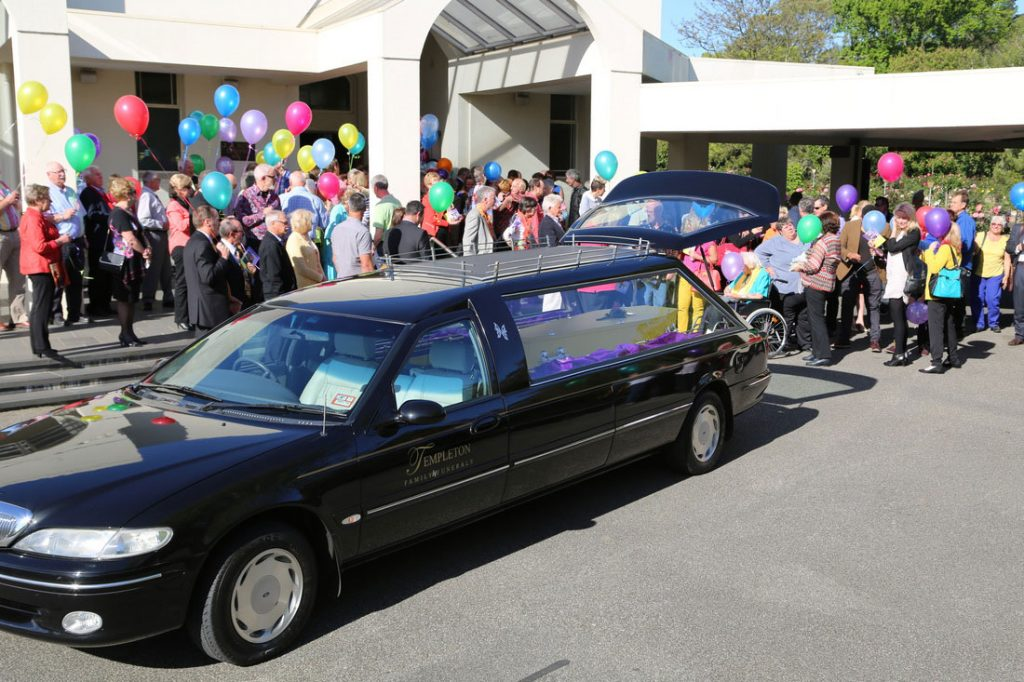 """Templeton Family Lady Funeral Directors Richmond, for funerals and cremations """"your way"""" in Melbourne."""