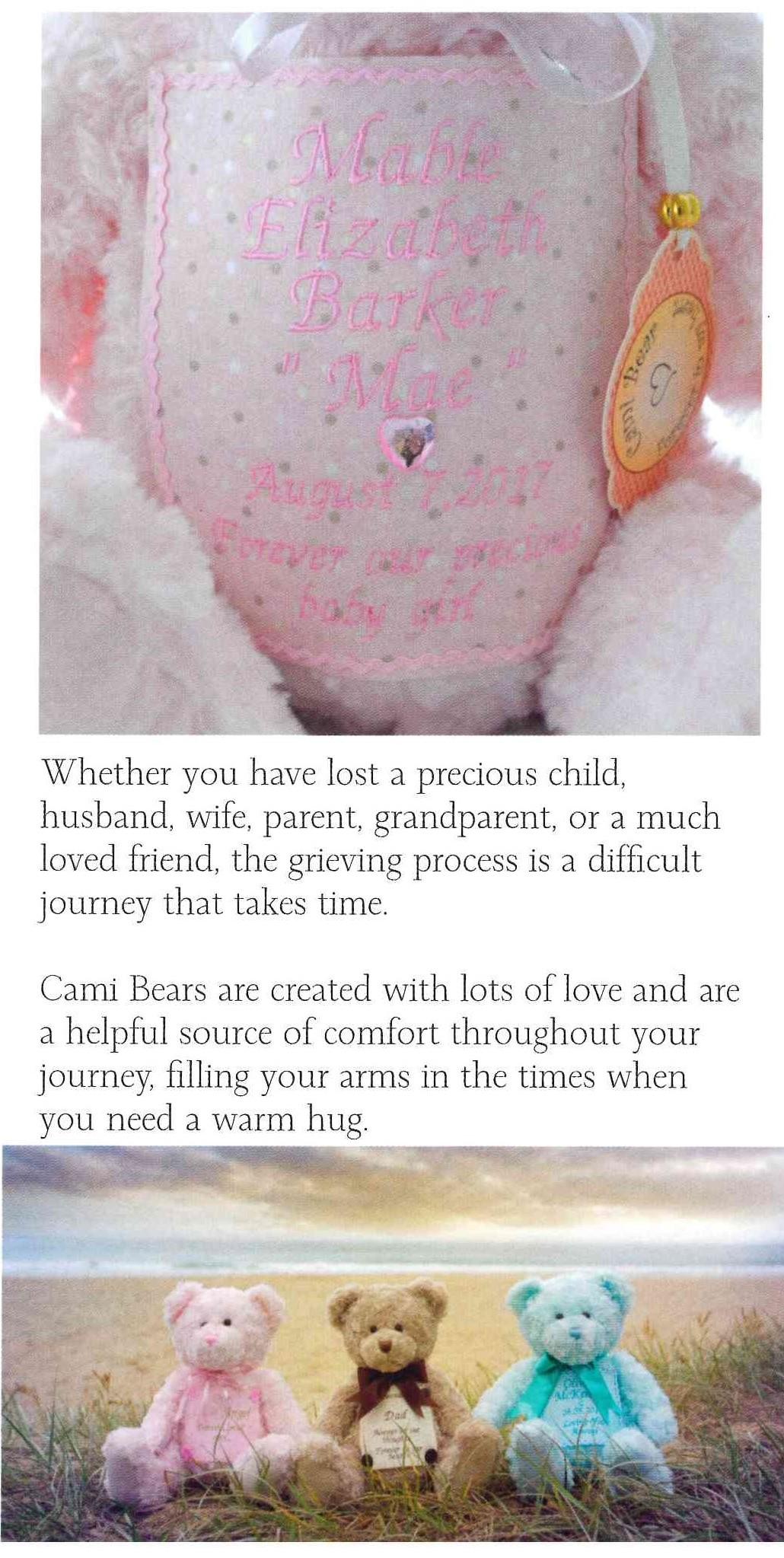 Fingerprints for babies funerals
