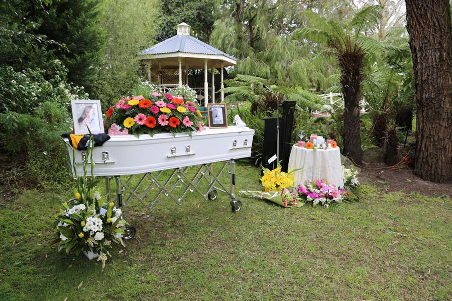 Unique Funeral Services Harley Davidson Hearse Park